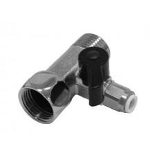 Адаптер с краном для подключения фильтров к водопроводу.