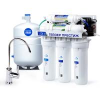Гейзер Престиж П (Бак 12 л.) обратноосмотическая система для фильтрации воды.